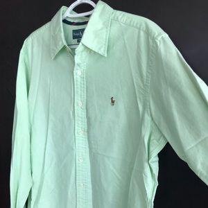 Mens Ralph Lauren Classic Fit Shirt Large